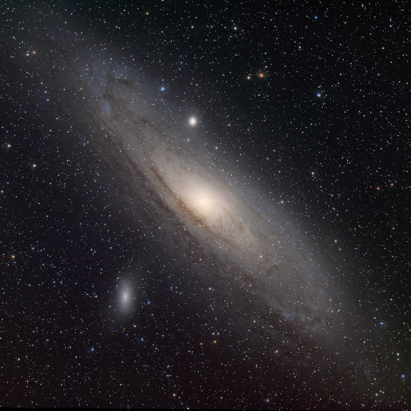 Andromeda Spiral Galaxy - Pics about space