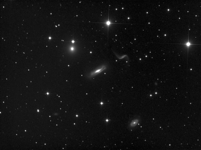 Hickson 44 Compact Group in Leo
